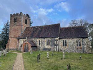 St Marys Church, Hamstead Marshall